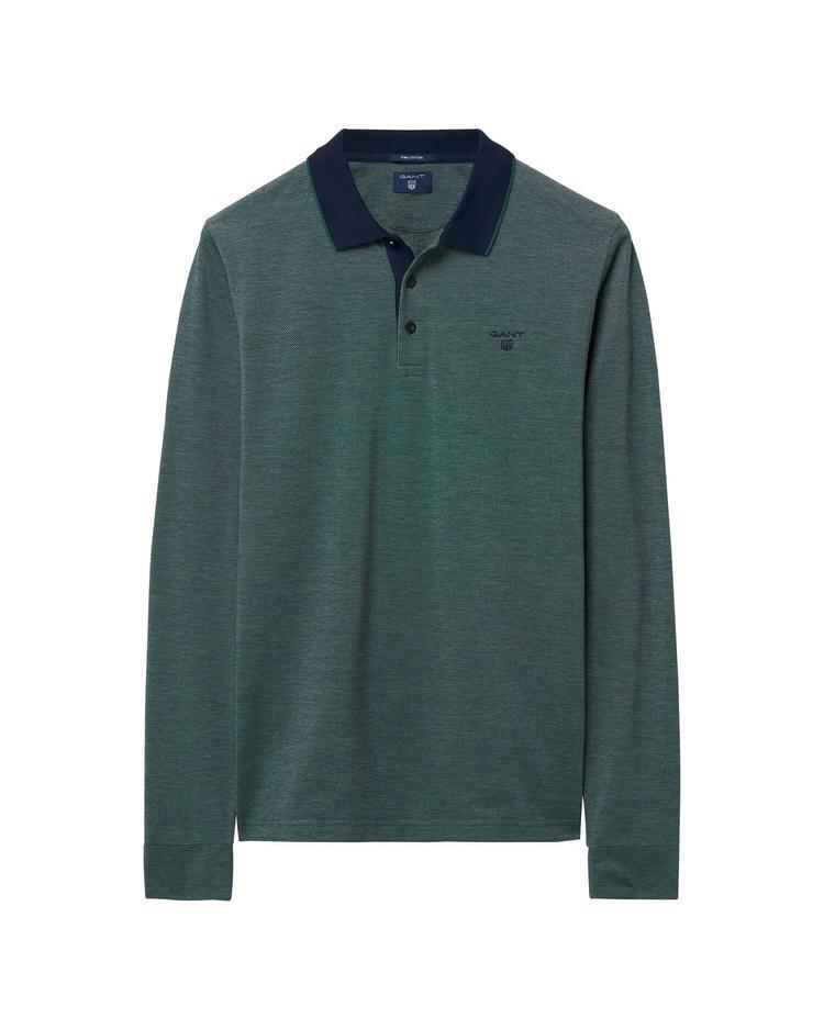 Erkek Yeşil Uzun Kollu Regular Polo