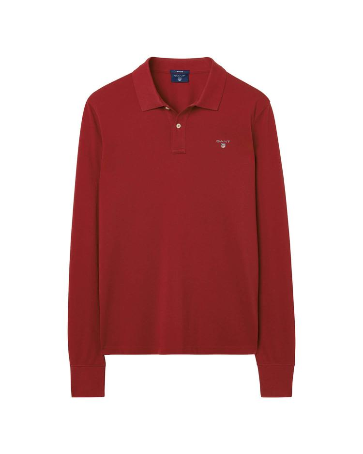 Gant Original Piqué Regular Erkek Kırmızı Polo