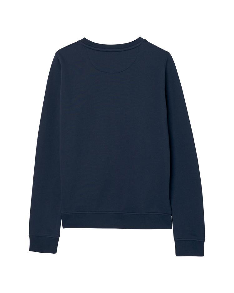 Kadın Lacivert Gold Logolu Sweatshirt