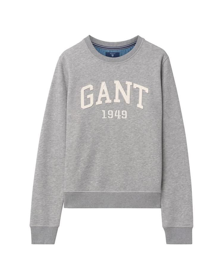 Çocuk Gri Teen Girls 1949 Crew Sweatshirt