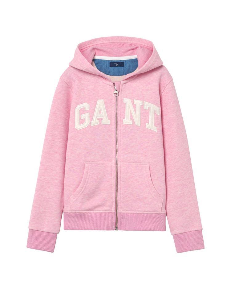 GANT Kız Çocuk Pembe Kids Logolu Sweatshirt