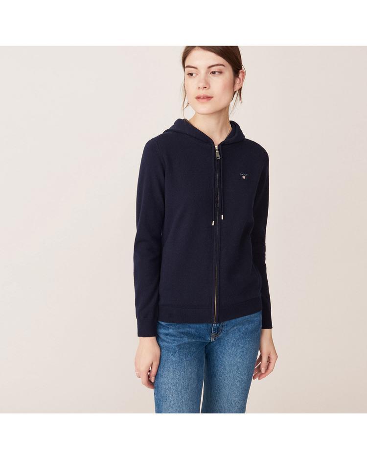 Gant Kadın Lacivert Triko Sweatshirt