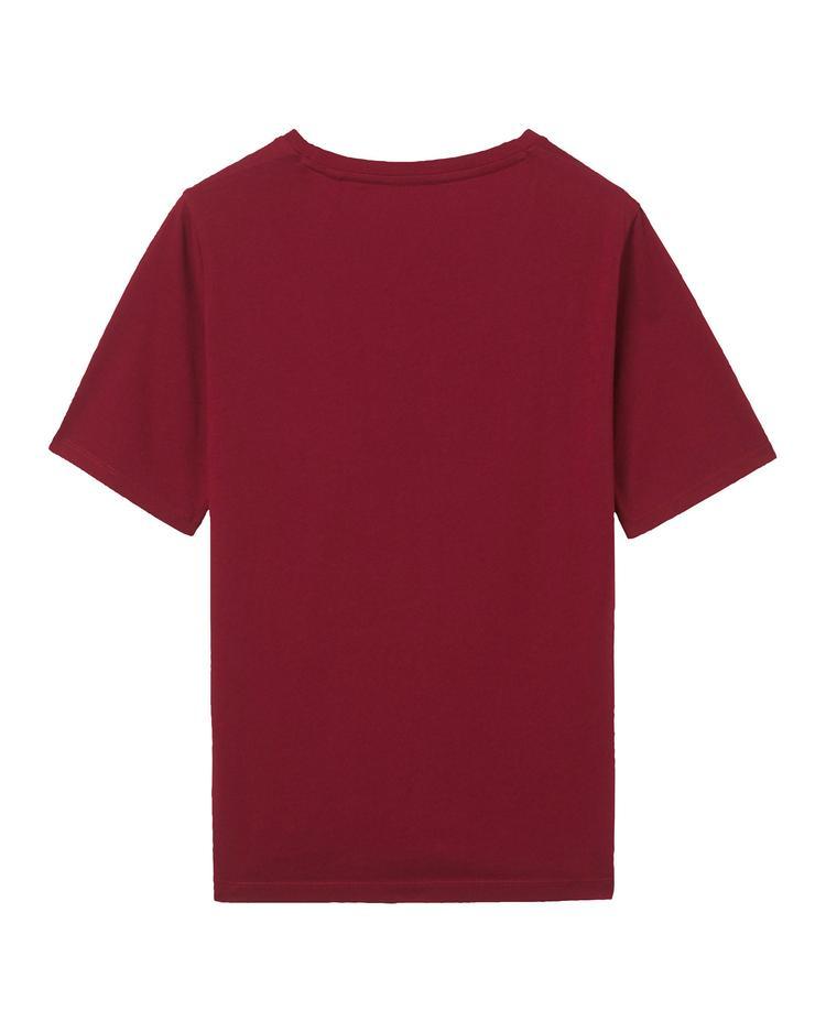 Kadın Bordo Logolu Tshirt