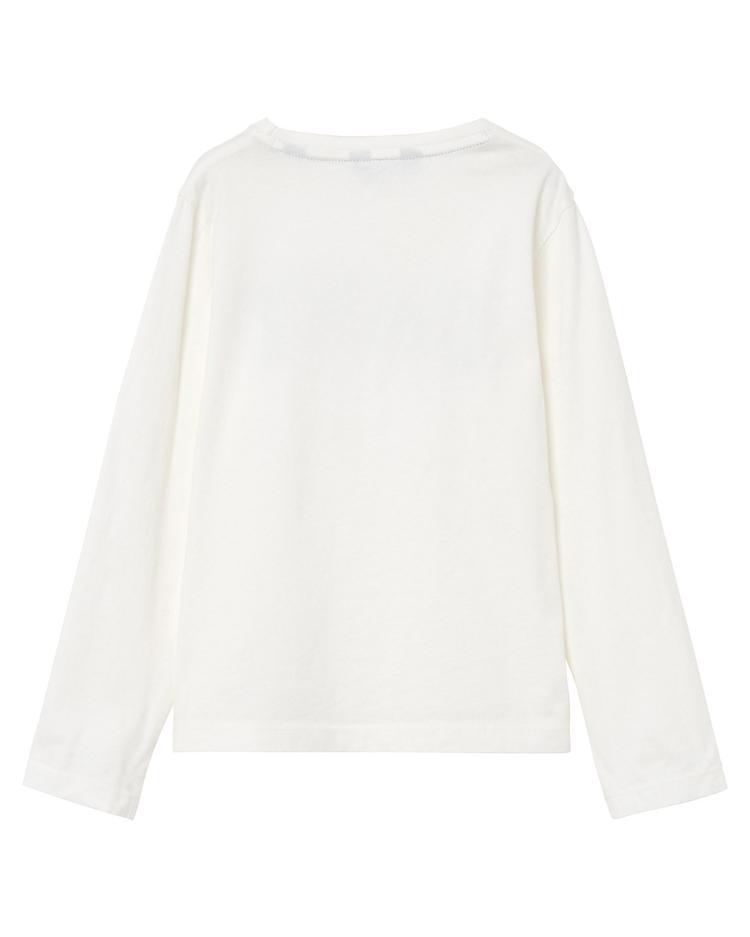 GANT Kız Çocuk Beyaz Sweatshirt