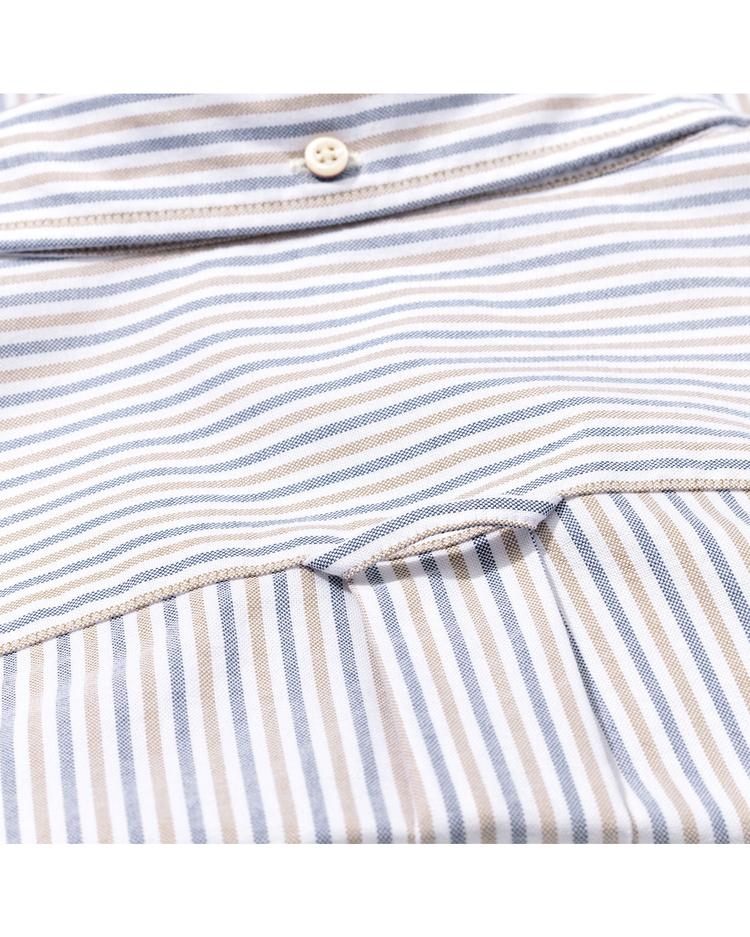 Erkek Beyaz Oxford Two Gömlek