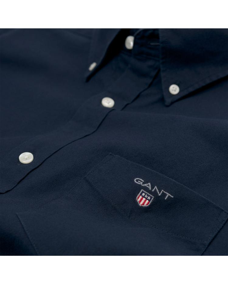 Gant Erkek Lacivert Regular Brushed Oxford Gömlek