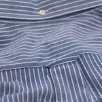 Erkek Mavi Pique Gömlek