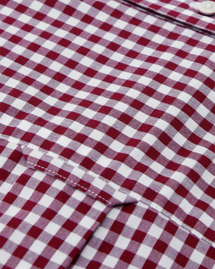 Gant Erkek Kırmızı Pötikareli Gömlek