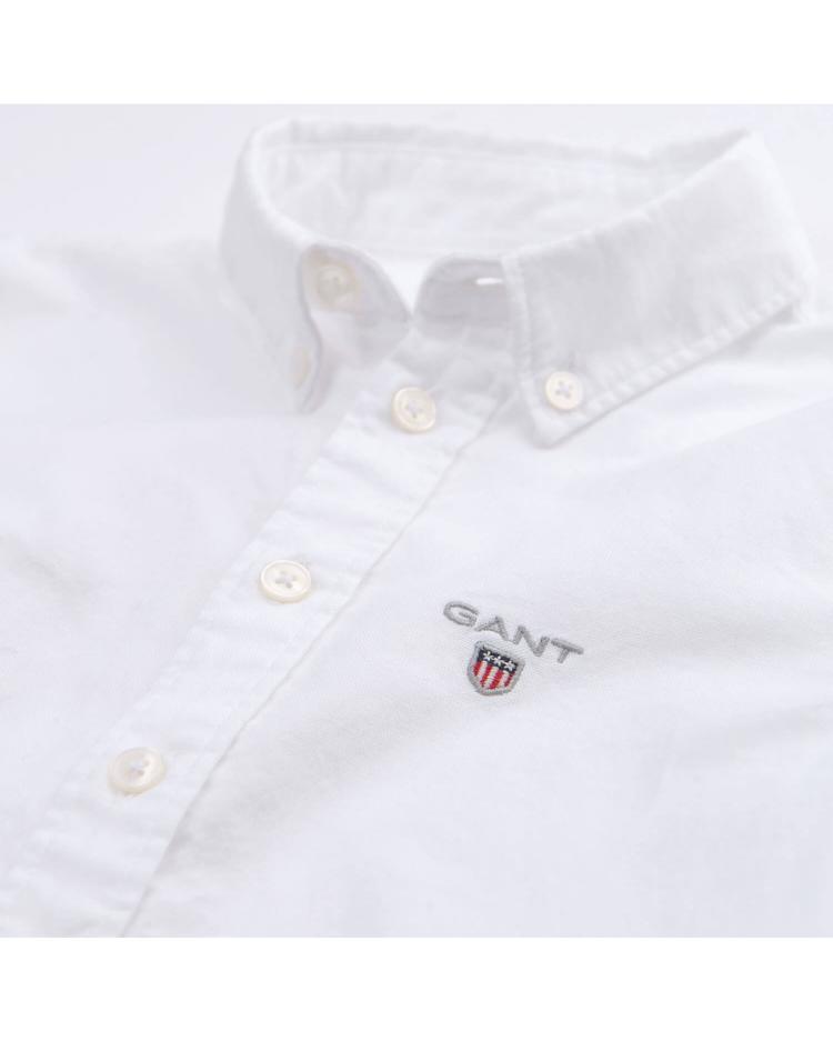 Çocuk Beyaz Regular Oxford Gömlek