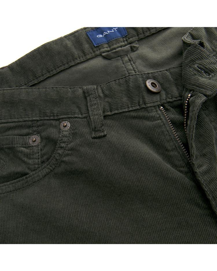 GANT Erkek Yeşil Slim Pantolon Pantolon