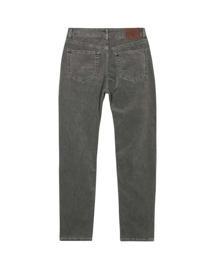 Gant Stone Cord Kadife Erkek Gri Slim Jean Pantolon