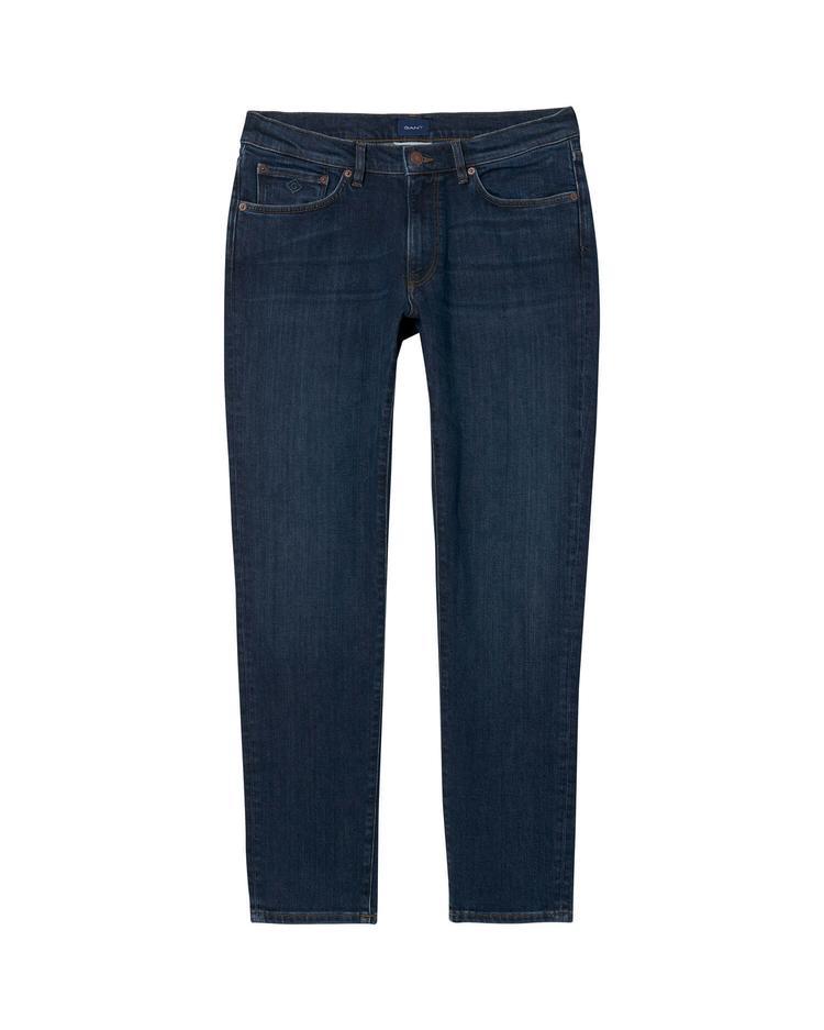 GANT Erkek Lacivert Slim Jean Pantolon
