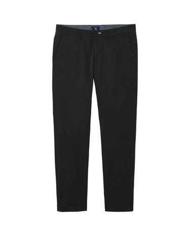 Erkek Twill Chino Koyu Yeşil Slim Pantolon