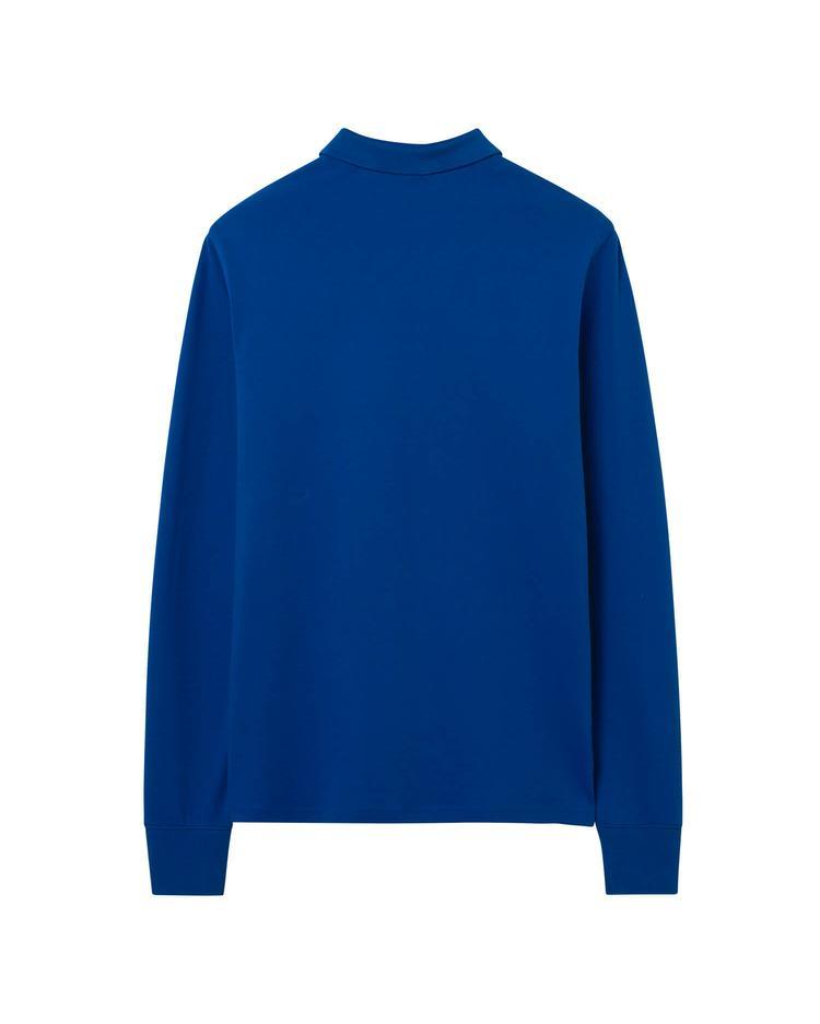 Gant Erkek Mavi Original Piqué Rugger Uzun Kollu Polo Sweatshirt
