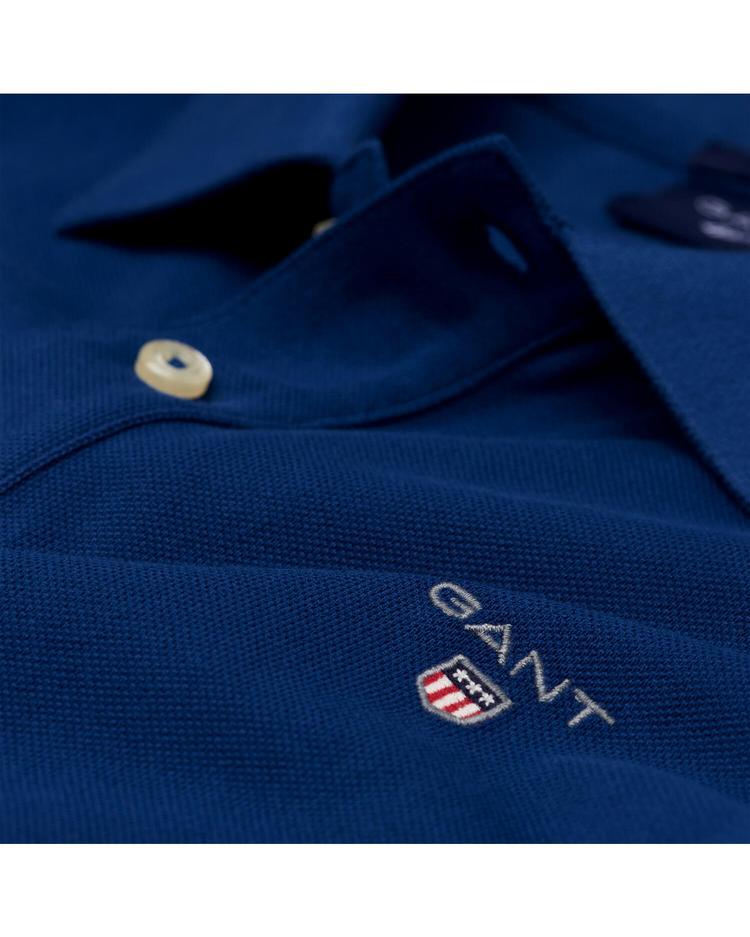 Gant Original Piqué Regular Erkek Lacivert Polo
