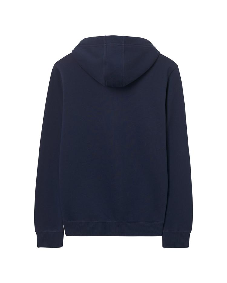 GANT Erkek Lacivert Contrast Backside Sweatshirt