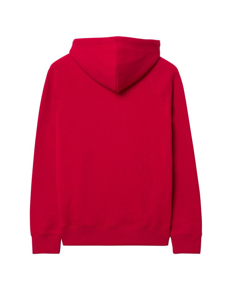 Erkek Kırmızı Hoodie Sweatshirt