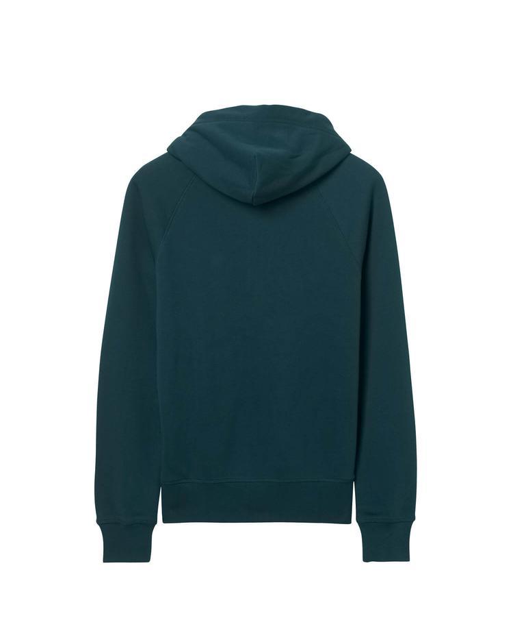 Erkek Yeşil Kapuşonlu Sweatshirt