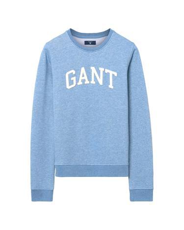 Kadın Mavi Arch Logolu Sweatshirt
