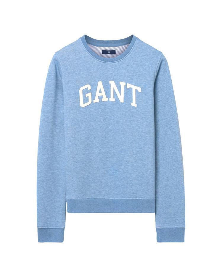 GANT Kadın Mavi Arch Logolu Sweatshirt