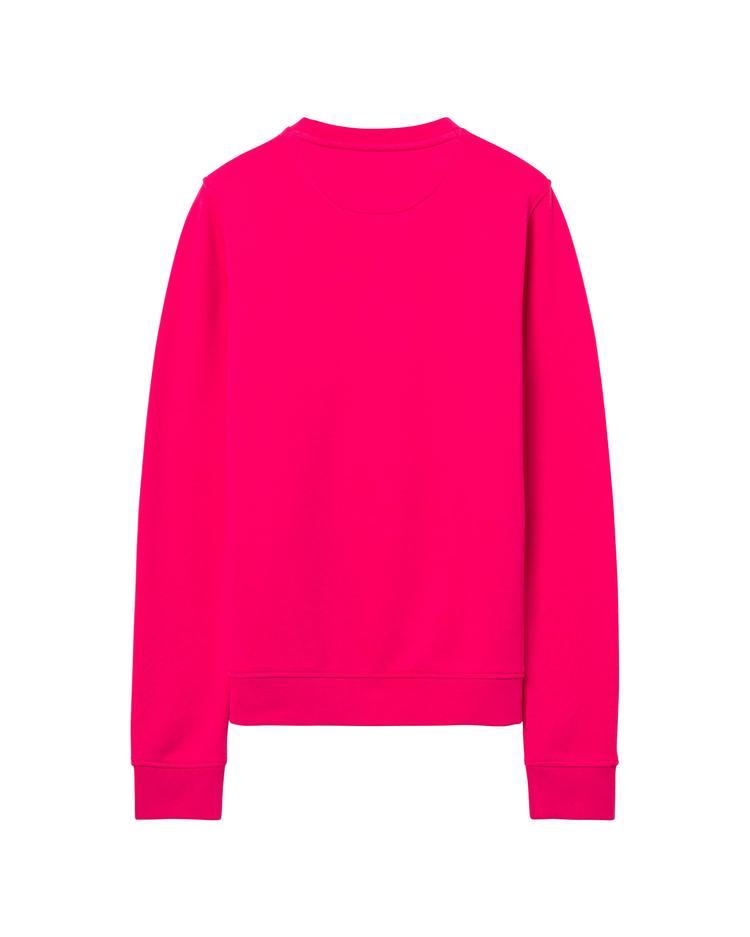 GANT Kadın Pembe Logolu Sweatshirt
