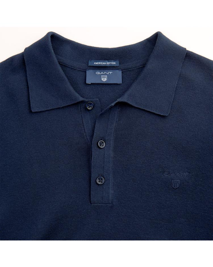 Erkek Lacivert American Cotton Triko