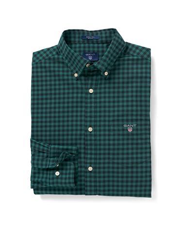 Erkek Yeşil Winter Twill Gömlek