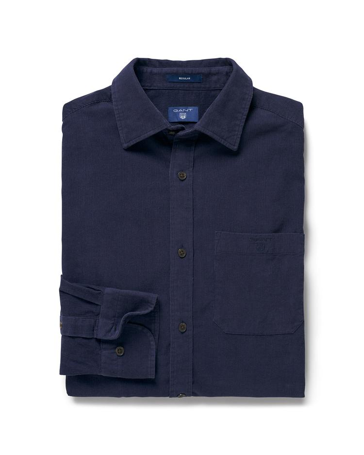 GANT Erkek Lacivert Regular Gömlek