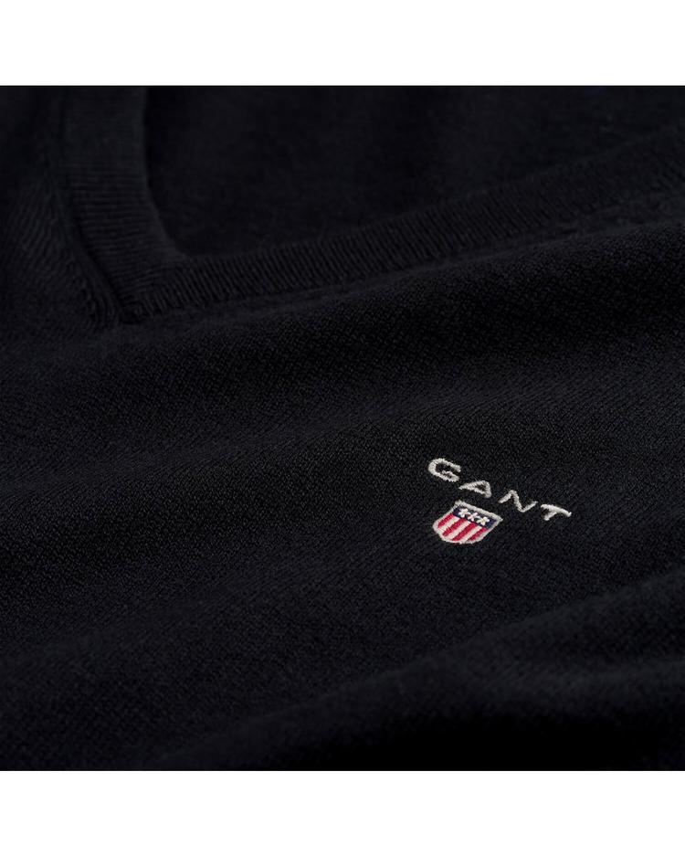 Gant Erkek Yünlü Siyah Triko