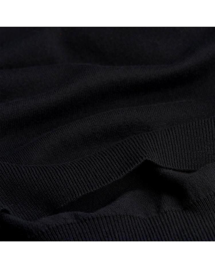 Gant Erkek Yünlü Siyah Triko Kazak