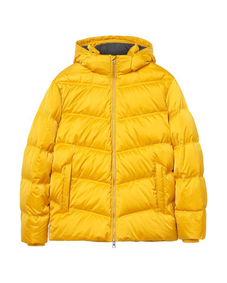 Erkek Sarı The Alta Down Jacket Mont