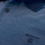 Gant Erkek Mavi Uzun Kollu Regular Polo