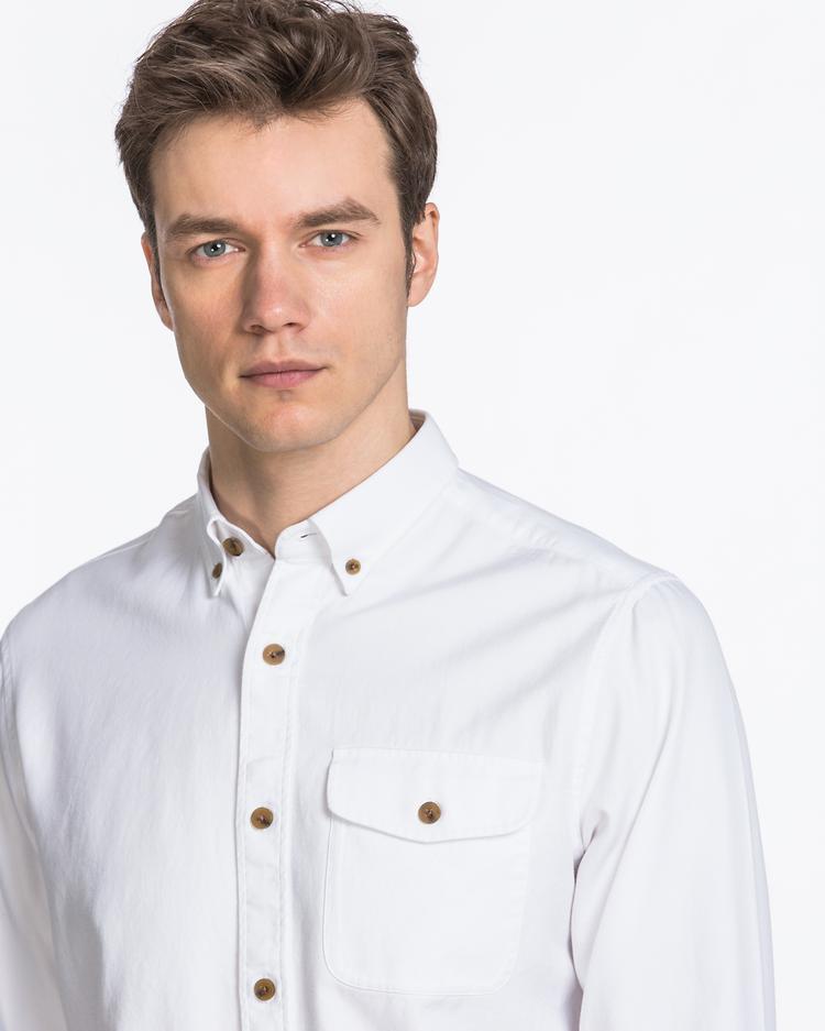 GANT Erkek Krem Rengi Gömlek