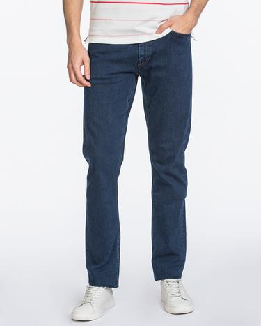 GANT Erkek Lacivert Regular Fit Denim Pantolon