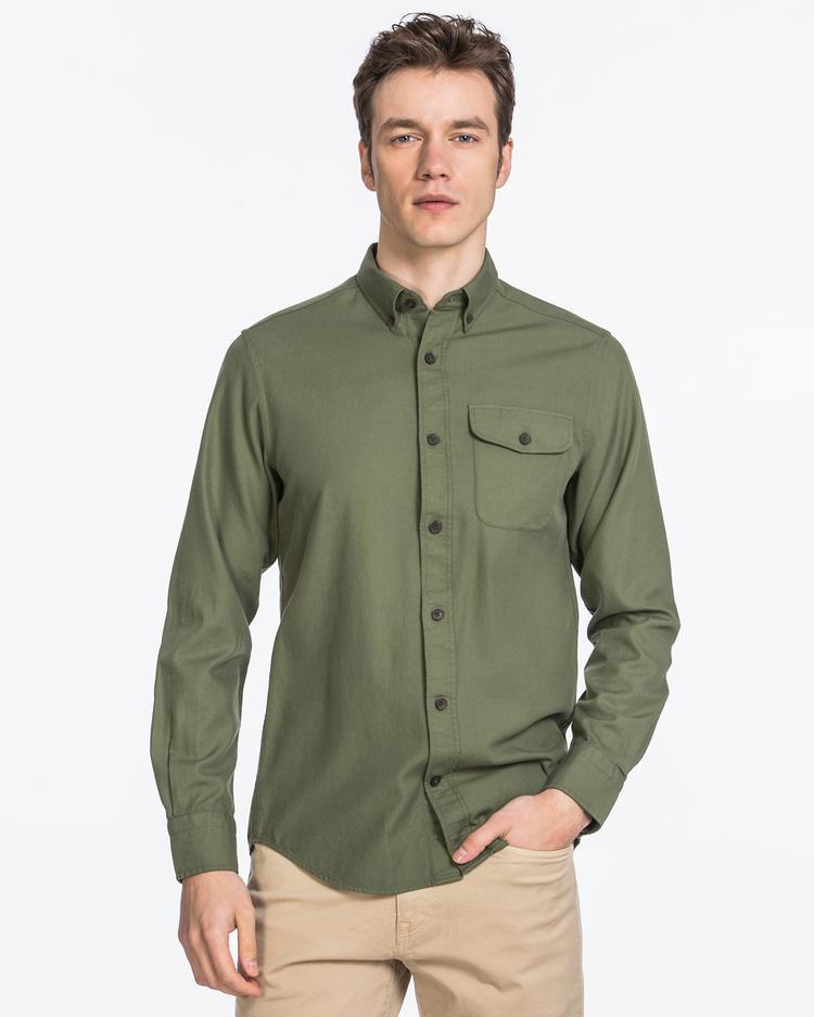 Gant Erkek Yeşil Gömlek