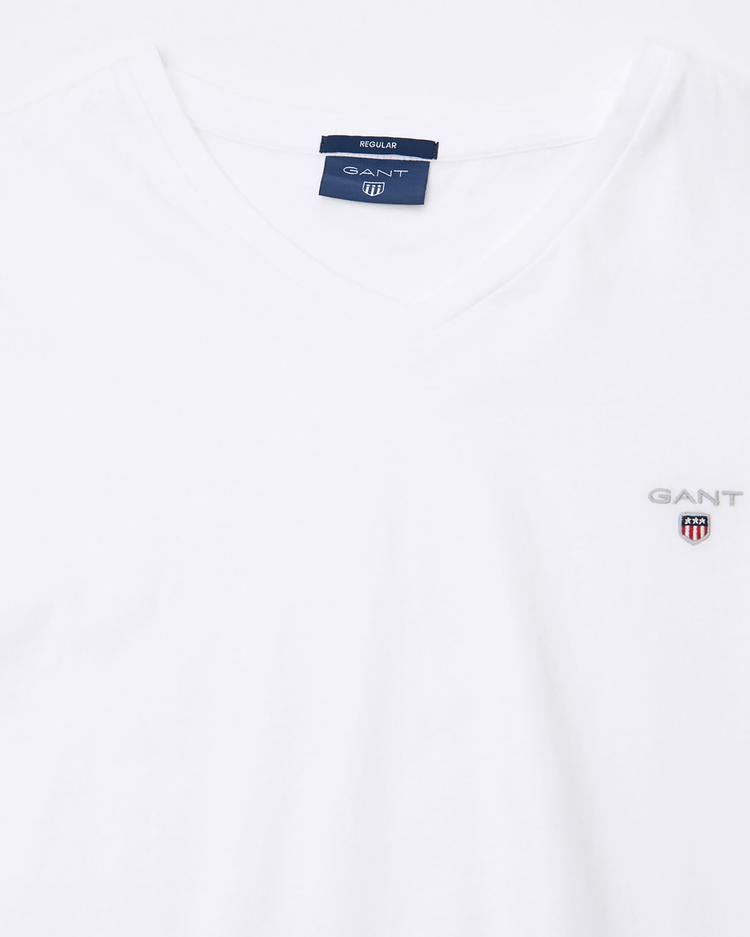 Gant Erkek Beyaz Tshirt