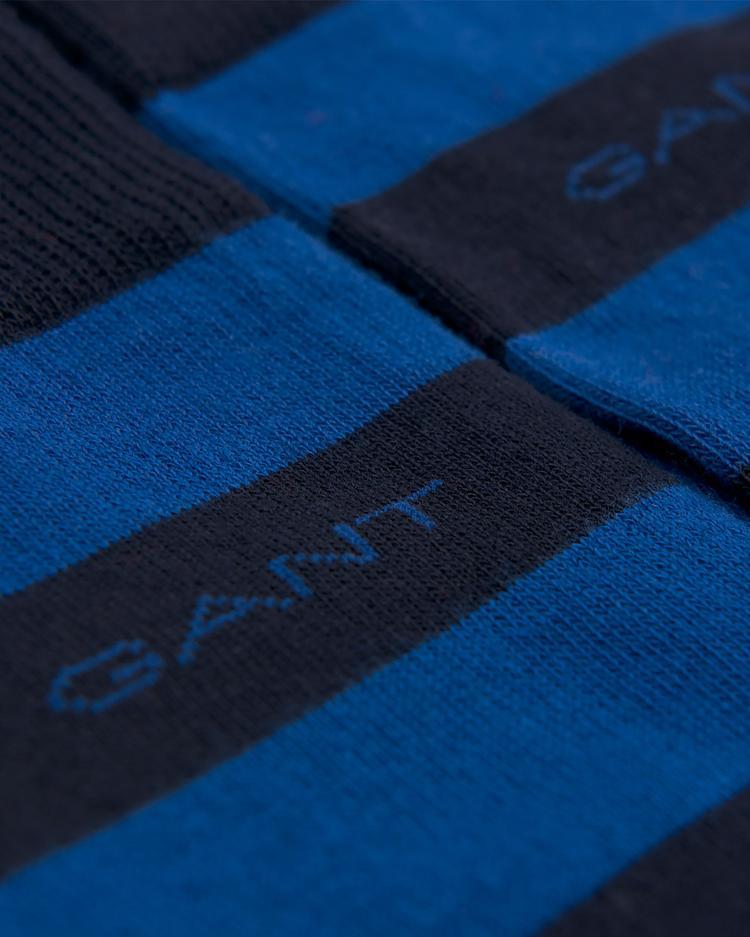 GANT Erkek Mavi Çizgili Çorap