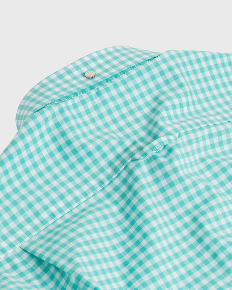GANT Erkek Yeşil Slim Fit Broadcloth Gömlek