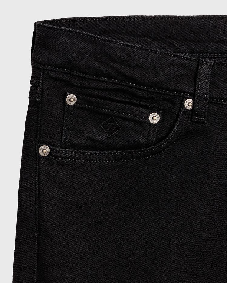 GANT Erkek Siyah Slim Jean