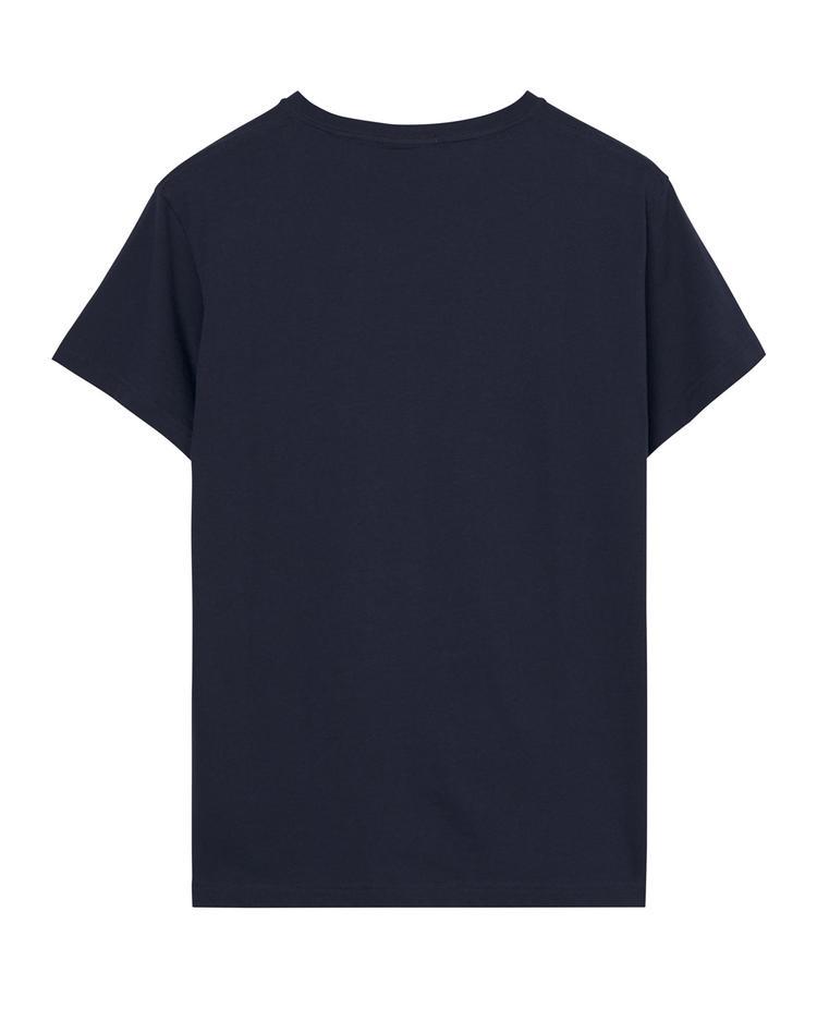 Erkek Lacivert V yaka Tshirt