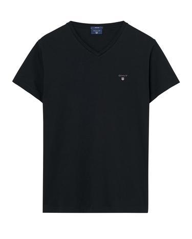 GANT Erkek Siyah Tshirt