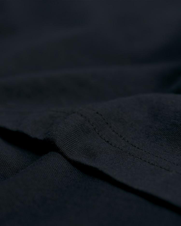 GANT Erkek Siyah V Yaka T-Shirt