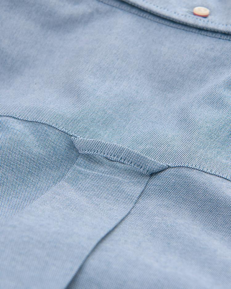 GANT Erkek Mavi Regular Oxford Gömlek