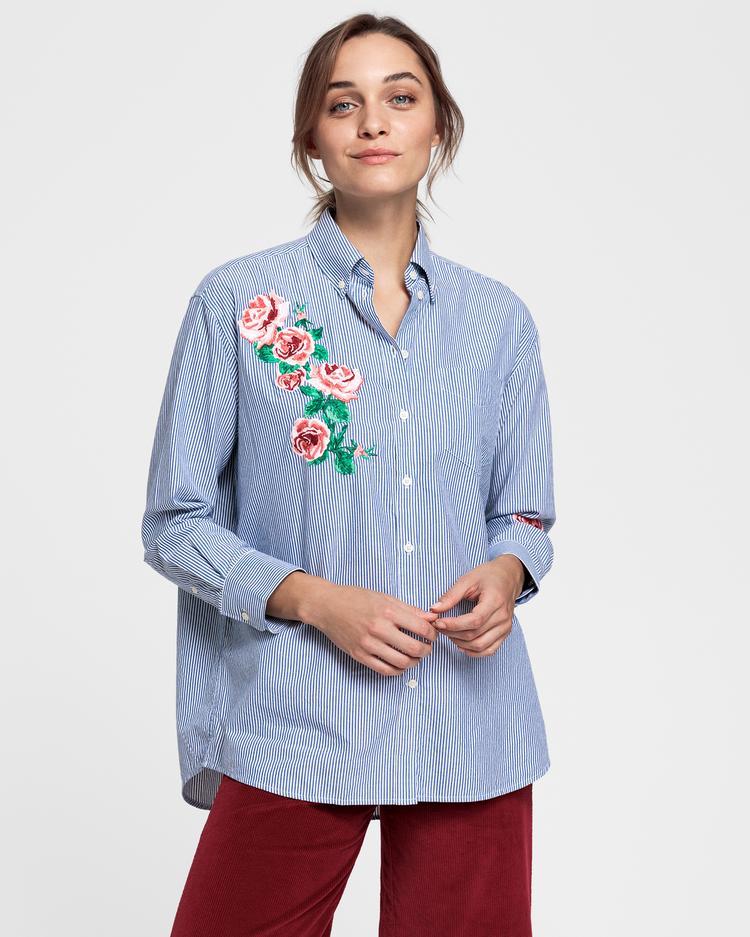 GANT Kadın Kırmızı Gömlek
