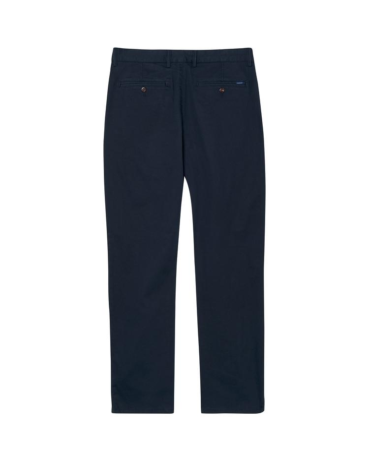 GANT Erkek Lacivert Regular Twill Chino Pantolon