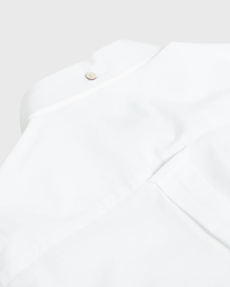 Gant Erkek Beyaz Regular Fit Broadcloth Gömlek