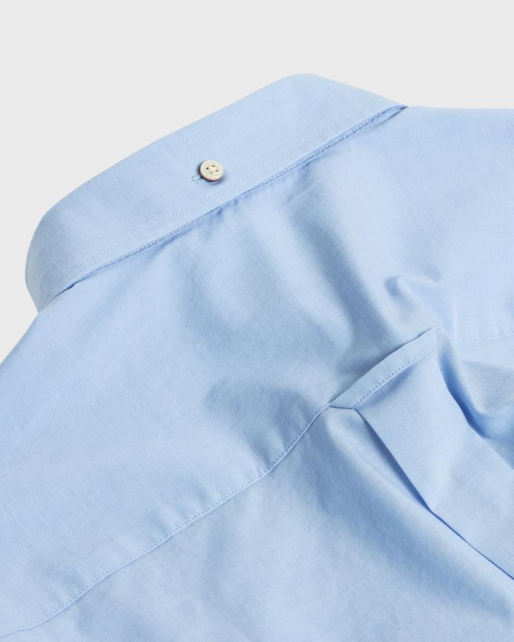 GANT Erkek Mavi Regular Fit Broadcloth Gömlek