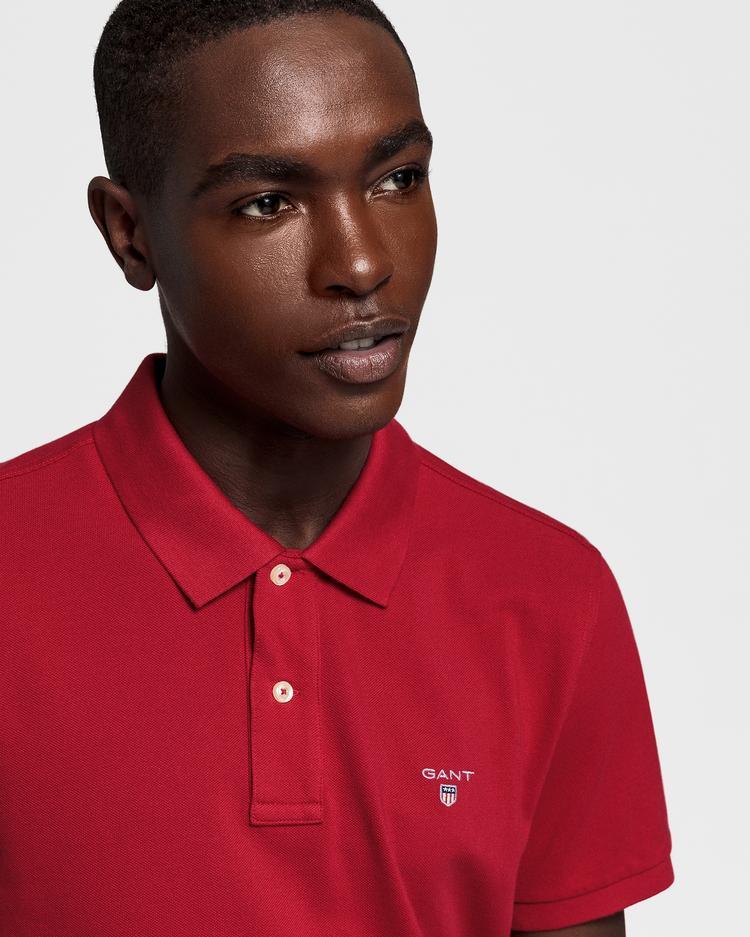 Erkek Kırmızı Regular Pike Polo