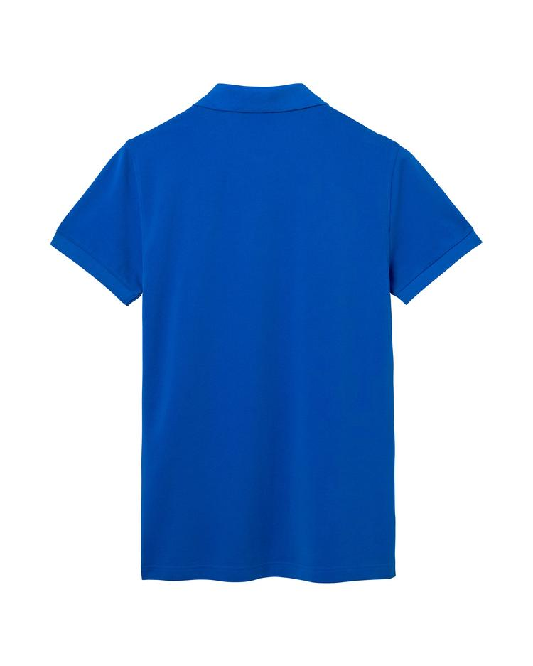 Erkek Mavi Slim Polo