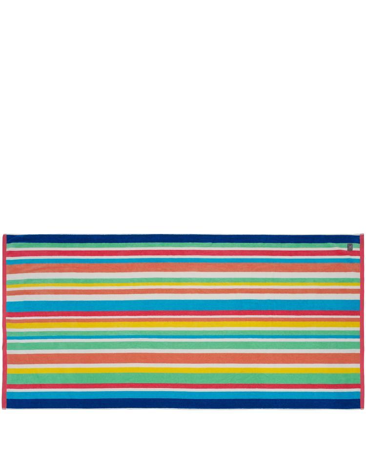 Gant Unisex Renkli Çizgili Havlu